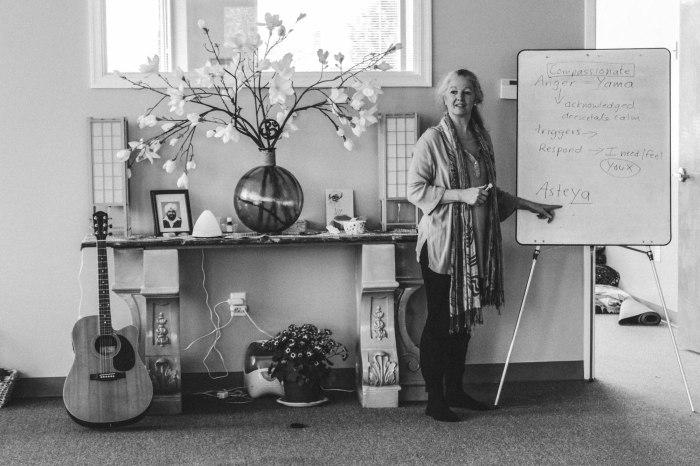 Deborah Bennett yoga teacher Fredericksburg